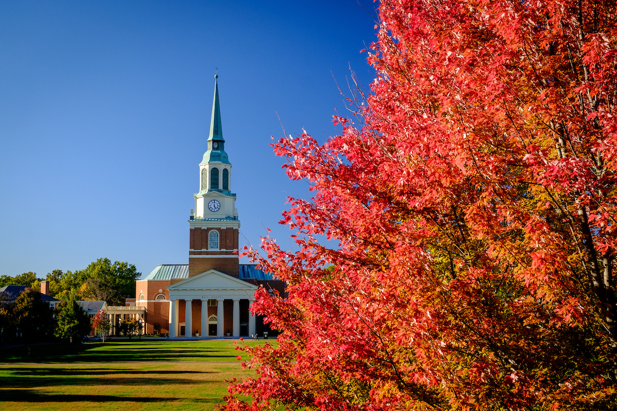 Job: James and Marilyn Dunn Chair of Baptist Studies, Wake Forest University School of Divinity
